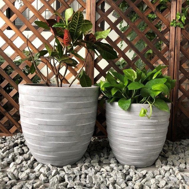Considerations when planting with pots