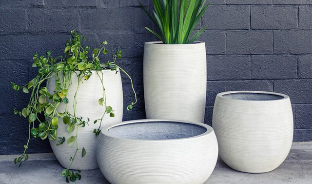 The superior features of concrete pots
