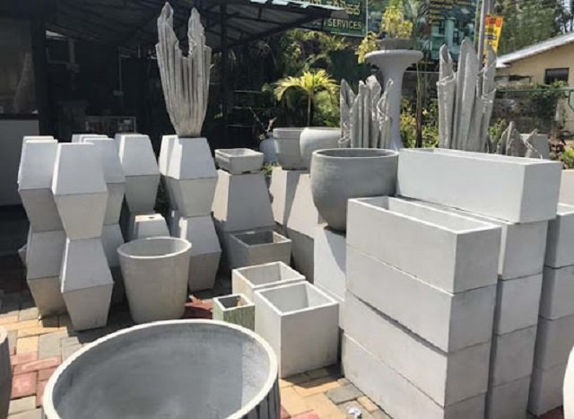 What is a concrete pot in Vietnam?